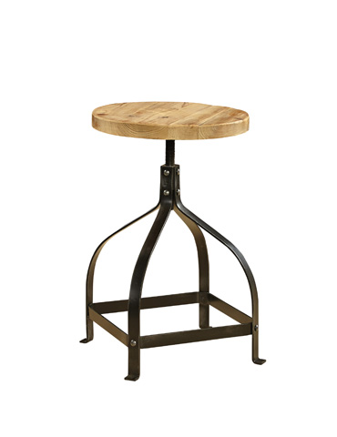 Furniture Classics Limited - Bleecker Recycled Stool - 72045