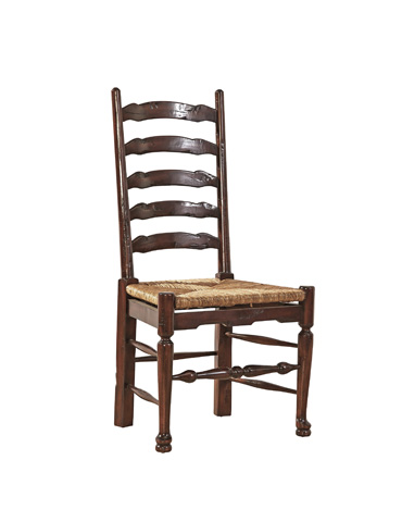 Furniture Classics Limited - English Country Ladderback Side Chair - 28730QC