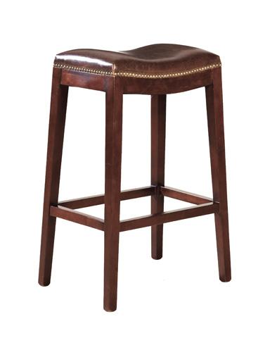 Furniture Classics Limited - Leather Backless Bar Stool - 91-001L