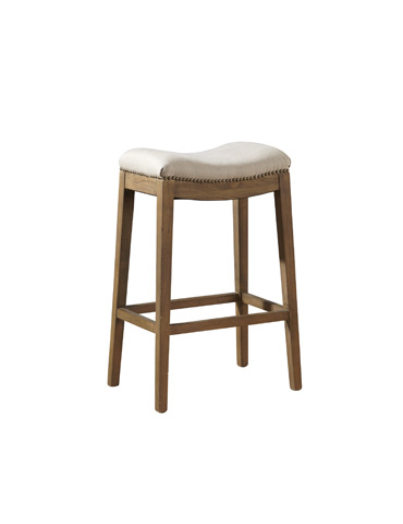 Furniture Classics Limited - Linen Backless Counter Stool - 91-002F