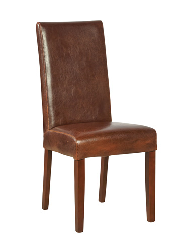 Furniture Classics Limited - Leather Parsons Chair - 91-017L