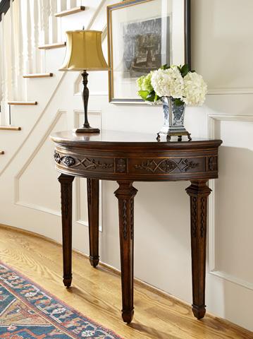 Fine Furniture Design - Demilune Console - 1340-942