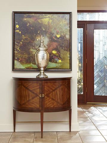 Fine Furniture Design - Demilune Cabinet - 1360-104