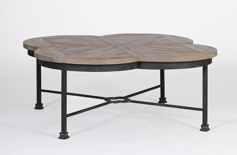 Image of Edwin Quatrefoil Coffee Table
