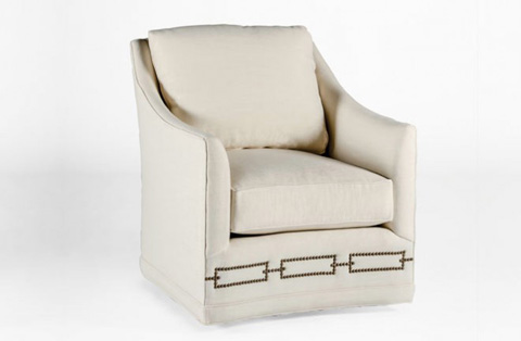 Image of Baldwin Swivel Chair