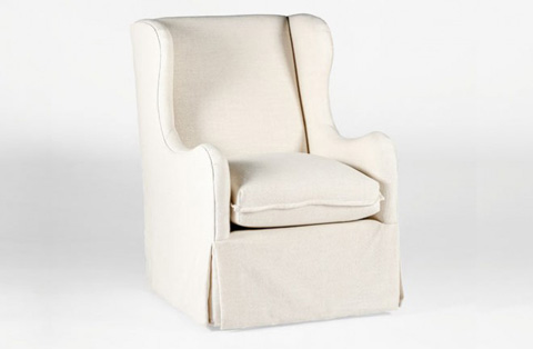 Gabby Home - Harlow Wingback Swivel Chair - SCH-611