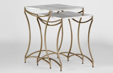 Gabby Home - Nancy Nesting Tables - SCH-152100