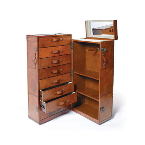 Image of Churchill Trunk and Wardrobe