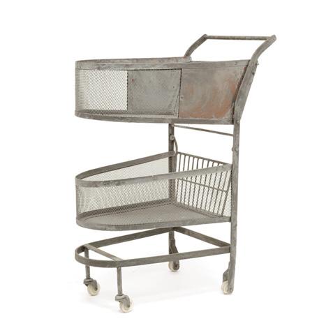 Image of Vintage Shopping Cart