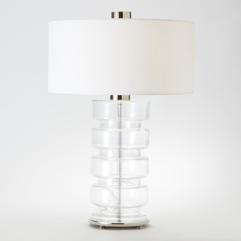 Global Views - Clear Belted Lamp - 1.10103