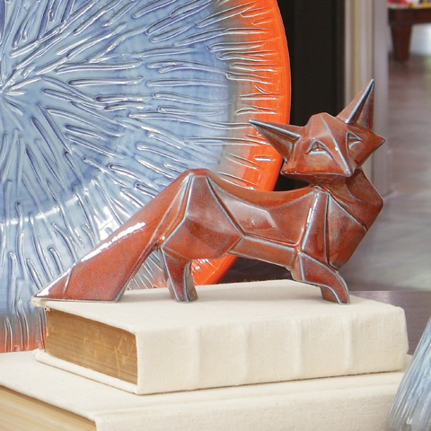 Global Views - Mr. Fox Sculpture - 1.10140