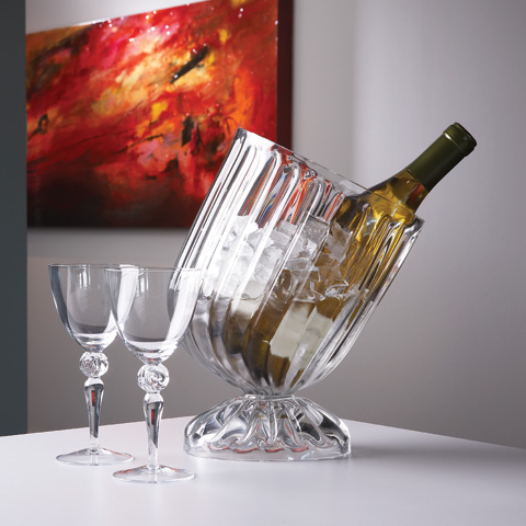 Global Views - Optic Slanted Wine Chiller - 1356