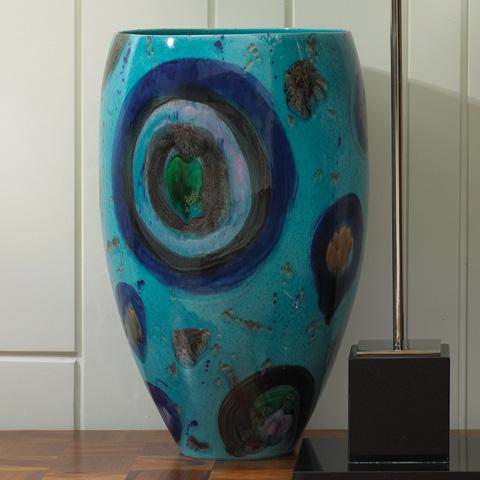 Global Views - Blue Spots Vase - 1731