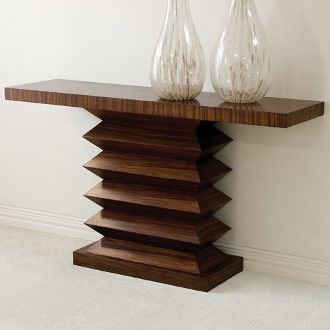 Global Views - Zig Zag Console Table - 2262