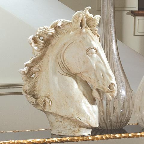 Global Views - Horse Head Sculpture - 3.30638