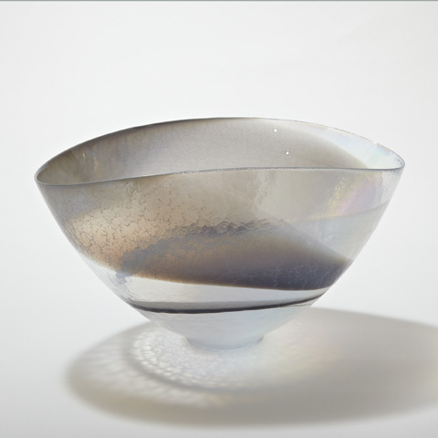 Global Views - Moon Stone Oval Bowl - 3.31031