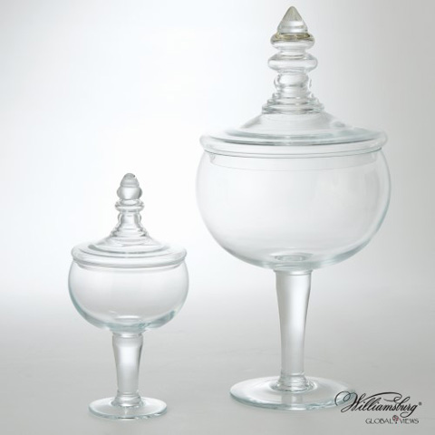 Global Views - Small Glass Apothecary Jar - 4.10006