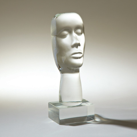 Global Views - Transparent Personality Sculpture - 6.60239