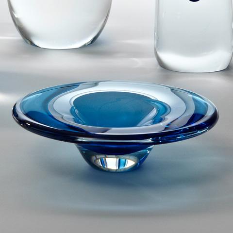 Global Views - Cobalt Glass Dish - 6.60281