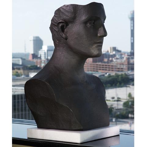 Global Views - Cast Iron Head Sculpture - 8.80029