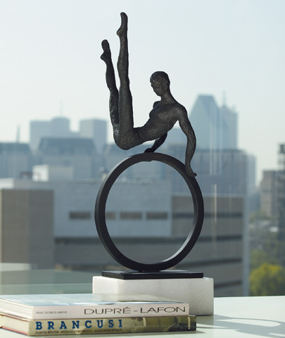 Global Views - Gymnast Man Sculpture - 8.80333