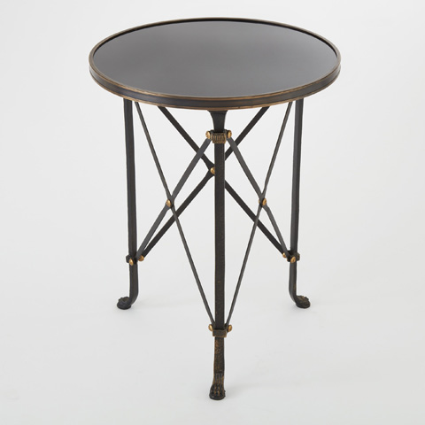 Global Views - Iron Directoire Table - 8.80828