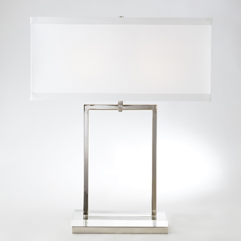 Global Views - Crystal Slab Lamp - 8.81563