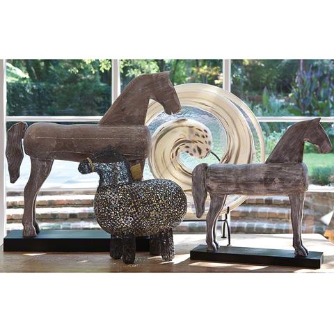 Global Views - Small Folk Art Horse - 8.81597