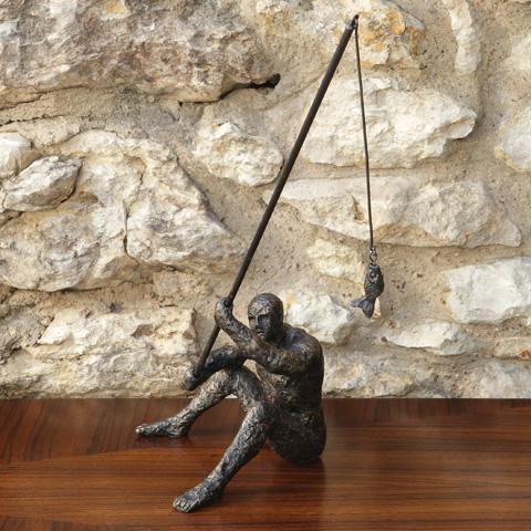 Global Views - Reel It In Sculpture - 8.81992