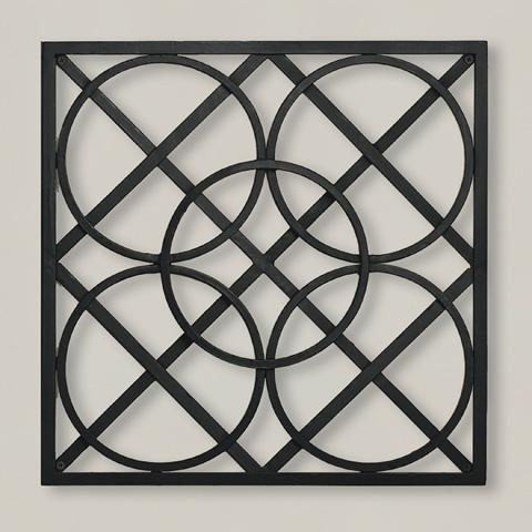 Global Views - Layered Circles Wall Panel - 9.90600