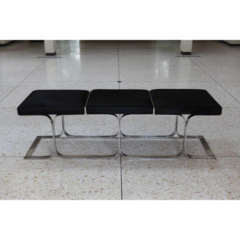 Image of Black Angus Airline Bench