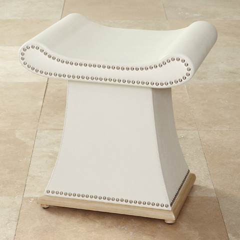 Global Views - Ivory Sultan Bench - 9.91856