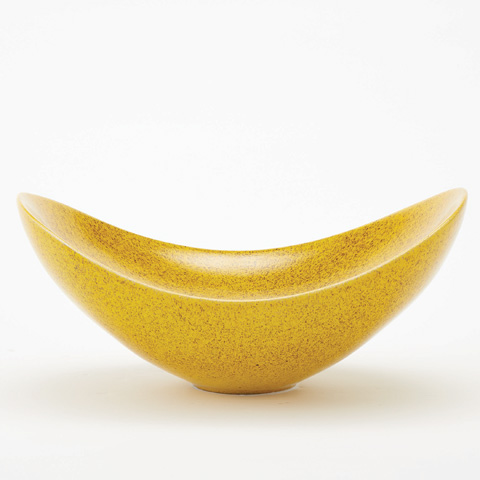 Global Views - Citron Swoop Bowl - 1837