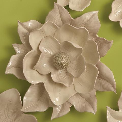 Global Views - Magnolia Wall Flower - 3.30588