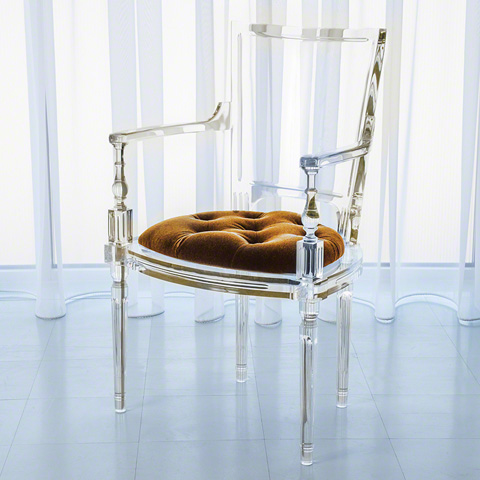 Global Views - Marilyn Acrylic Arm Chair - 3.31168