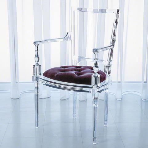 Global Views - Marilyn Acrylic Arm Chair - 3.31170