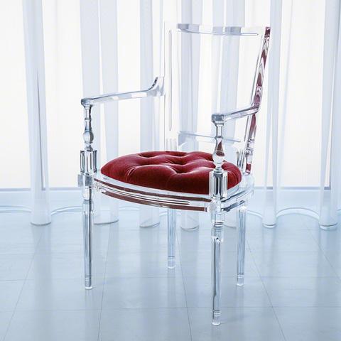 Global Views - Marilyn Acrylic Arm Chair - 3.31231