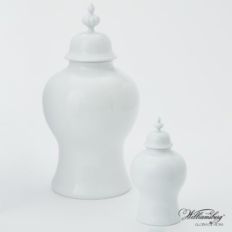 Global Views - Beaufort Ginger Jar - 4.80108