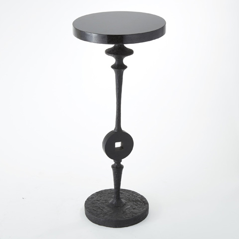 Global Views - Artisan Square Peg Accent Table - 8.81015