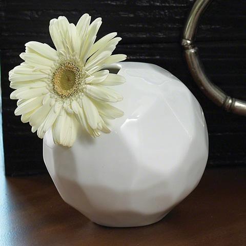 Global Views - Snowball Bud Vase - 8.81144