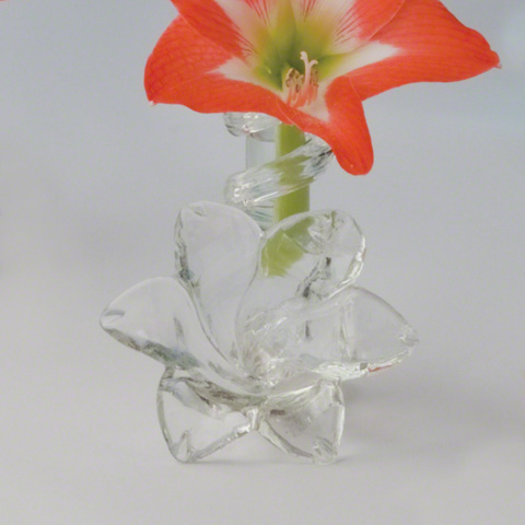 Global Views - Clear Lily Bud Vase - 8.81210