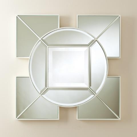 Global Views - Arabesque Square Mirror - 8.81570