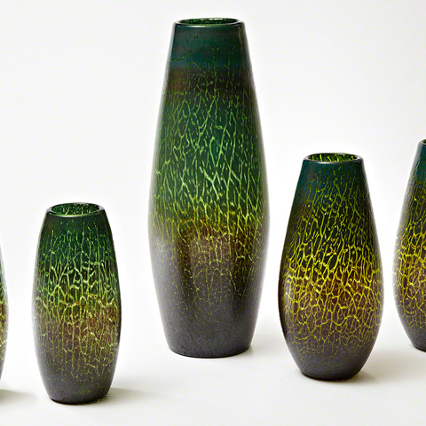 Global Views - Crackled Vase - 8.81961