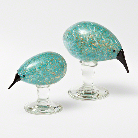 Global Views - Glass Kiwi Bird with Base - 8.81979