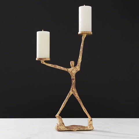 Global Views - Liberty Candleholder - 8.82128
