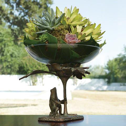 Global Views - Frog Bowl Holder - 8.82149