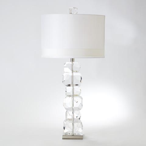 Global Views - Stacked Gemstone Lamp - 8.82165