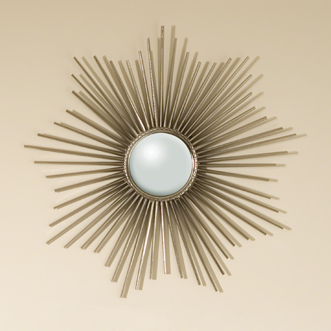Global Views - Mini Sunburst Mirror - 9.90664