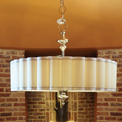 Global Views - Fluted Pendant - 9.91589