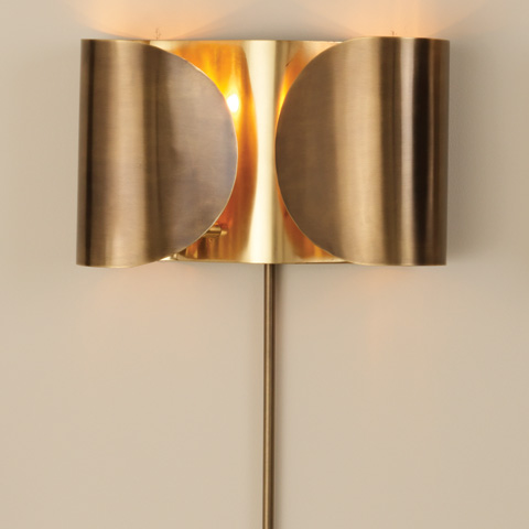 Global Views - Folded Sconce - 9.91590